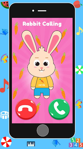 Baby Real Phone. Kids Game 2.1 Screenshots 2