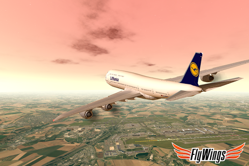Flight Simulator 2015 FlyWings Free 2.2.0 screenshots 1