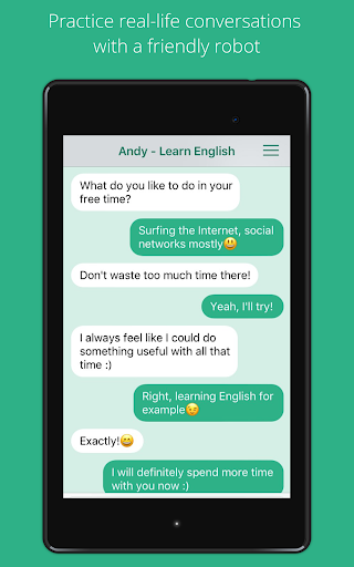Andy - English Speaking Bot 2.8.2 Screenshots 7