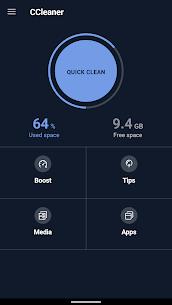 تحميل سي كلينر للاندرويد Apk تطبيق تسريع الموبايل CCleaner 1