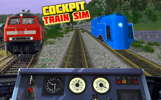Cockpit Train Simulator apkpoly screenshots 3