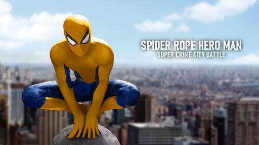 Spider Hero - Super Crime City Battle android2mod screenshots 11