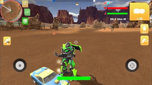 Robot War Free Fire - Survival battleground Squad 1.0 screenshots 9