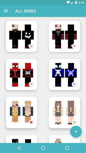 HD Skins for Minecraft PE (128x128) android2mod screenshots 7