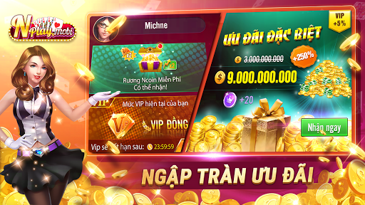 NPLAY: Game Bu00e0i Online, Tiu1ebfn Lu00ean MN, Binh, Poker.. 3.6.0 Screenshots 5