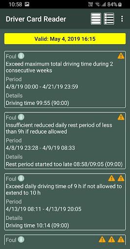Driver Card Reader  Screenshots 14