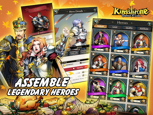 King's Throne: Game of Lust 1.3.65 screenshots 10