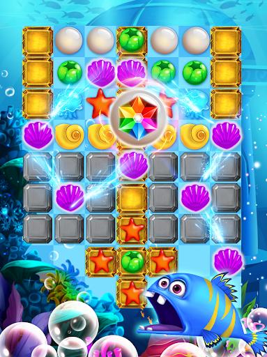 ocean mermaid blast screenshot 2