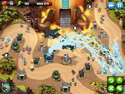 Alien Creeps TD - Epic tower defense Screenshot