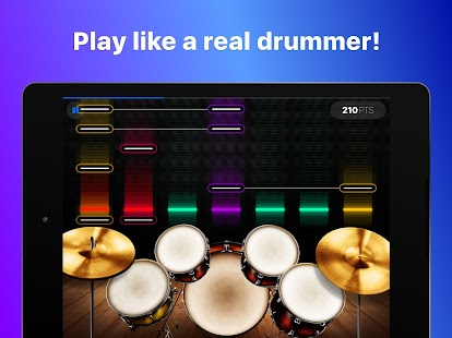 Drums: real drum set music games to play and learn Screenshot