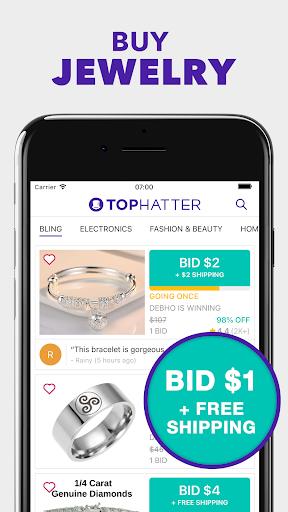 Tophatter: Fun Deals, Shopping Offers & Savings  screenshots 2
