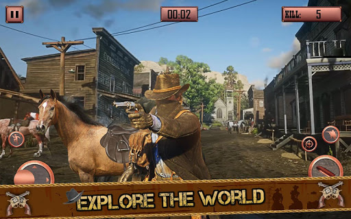 Western Cowboy Shooting :Wild West Game 2020 screenshots 1