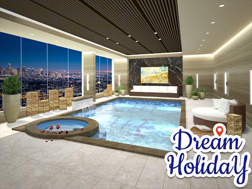 Dream Holiday - Travel home design game apkdebit screenshots 4