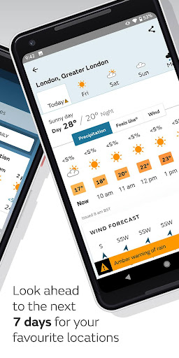 Met Office Weather Forecast 2.3.1 Screenshots 2