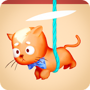 Rescue Kitten - Rope Puzzle