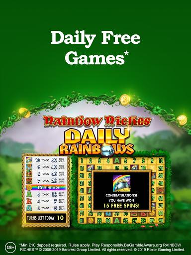 Rainbow Riches Casino: Slots, Roulette & Casino screenshots 4