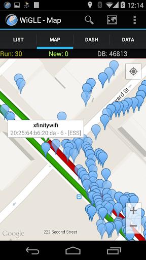 WiGLE WiFi Wardriving apktram screenshots 5