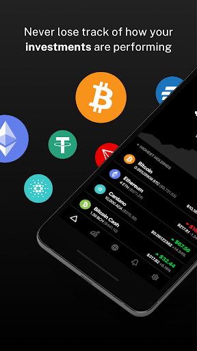 Delta - Bitcoin & Cryptocurrency Portfolio Tracker screenshots 1