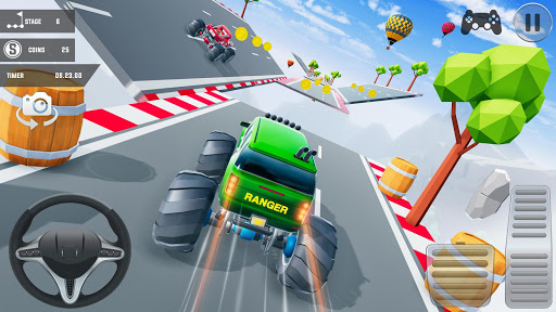 Mega Ramp Car Stunts 3D: Free Ramp Car Games 2021 screenshots 5