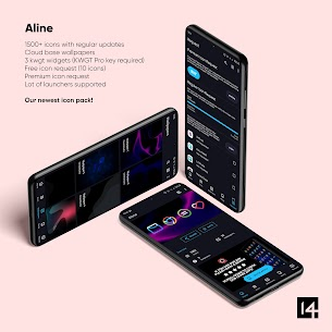 Aline Icon Pack Pro Apk- linear gradient icons (Patched) 2