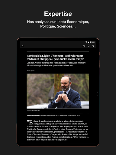 L'Express I Actualités, Infos, France, Monde  screenshots 17