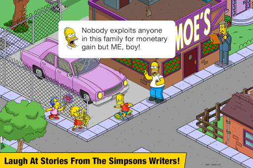 The Simpsonsu2122:  Tapped Out 4.47.5 Screenshots 5