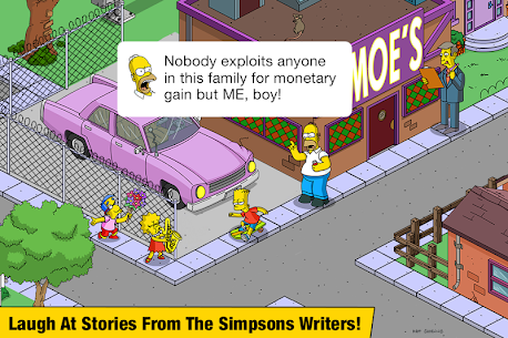 The Simpsons:  Tapped Out Mod Apk (Free Shopping) 5