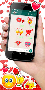 ud83dudc95ud83dude0dWAStickerApps animated stickers for Whatsapp 4.7.1 Screenshots 3