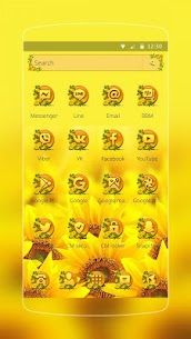 Sunflower Smile Launcher 1.1.9 Download Mod APK 2