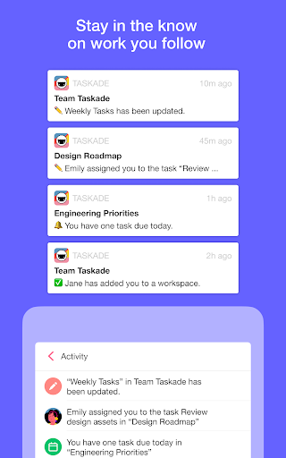 Taskade: All-in-One Collaboration for Remote Teams apktram screenshots 17