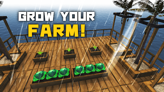 Survival and Craft: Crafting In The Ocean MOD (MOD MENU) 4