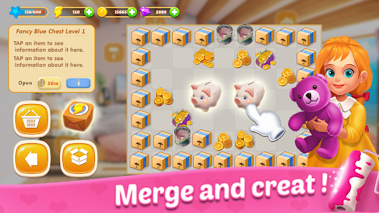 Merge Dream Mansion for Android , APK Download , (Unlimited Money) , ***NEW 2021*** 4