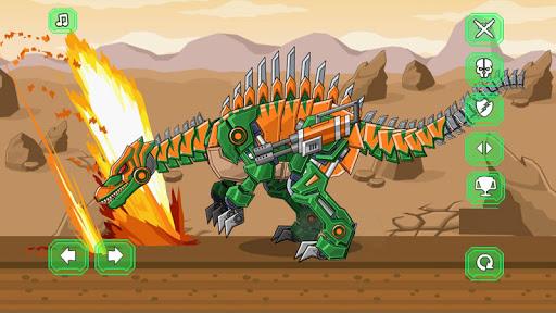 Assemble Robot War Spinosaurus apklade screenshots 2