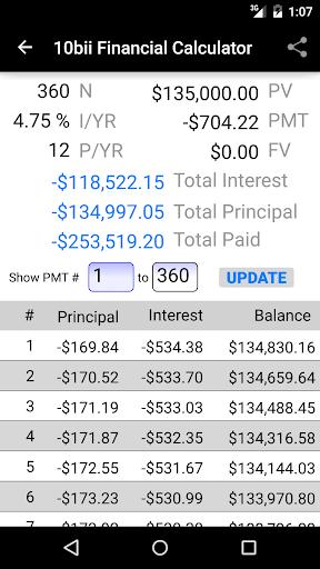 10bii Financial Calculator  screenshots 3