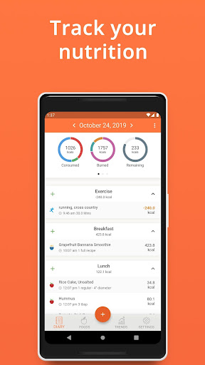 Cronometer – Nutrition Tracker 3.5.4 screenshots 1