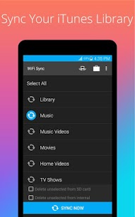 iSyncr: iTunes to Android 3