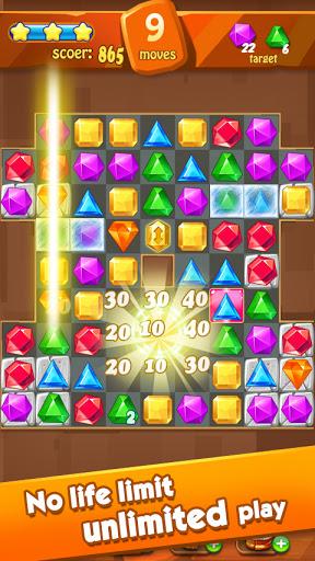 Jewels Classic - Jewel Crush Legend Apkfinish screenshots 13