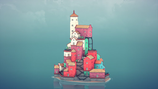 Water Town - Townscaper  screenshots 2
