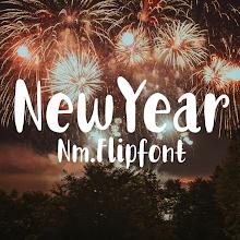 NmNewYear™ Latin and Cyrillic Flipfont APK