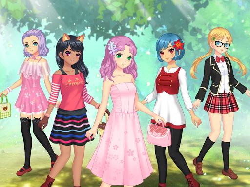 Anime Dress Up - Games For Girls 1.1.9 Screenshots 7