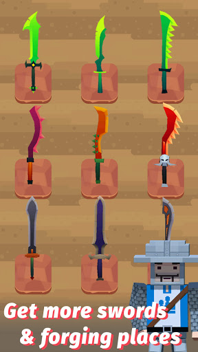 Merge Sword - Idle Blacksmith Master 1.4.4 screenshots 12