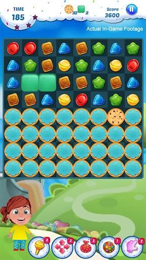 Gummy Candy - Match 3 Game 1.8 screenshots 5