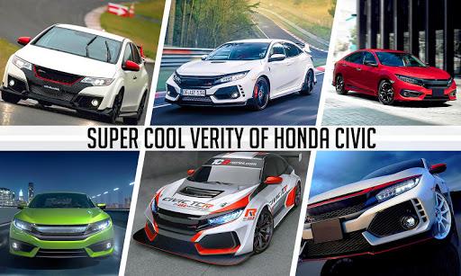 Drifting and Driving Simulator: Honda Civic Games 1.18 screenshots 5