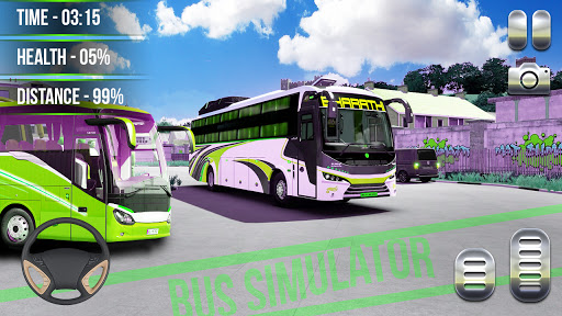 Heavy Bus Simulator 2021:Offroad Cargo Bus Drive  screenshots 6