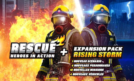 RESCUE: Heroes in Action APK MOD – Pièces de Monnaie Illimitées (Astuce) screenshots hack proof 1