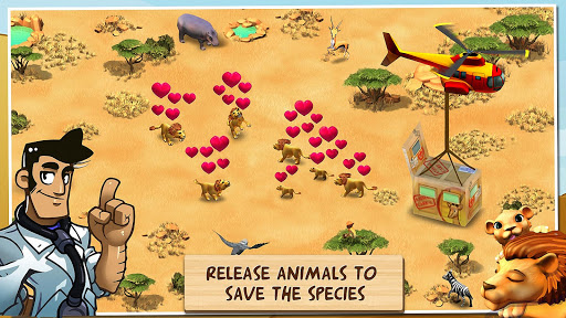 Wonder Zoo - Animal rescue ! apktreat screenshots 2