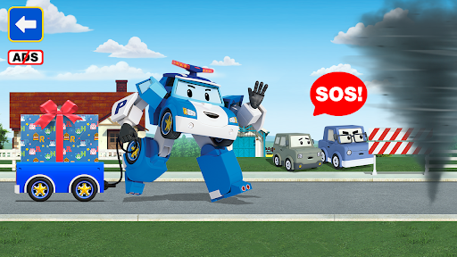 Robocar Poli: Mailman! Good Games for Kids!  screenshots 4