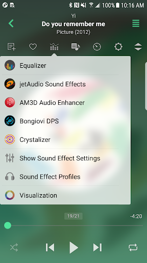 jetAudio HD Music Player  Screenshots 1