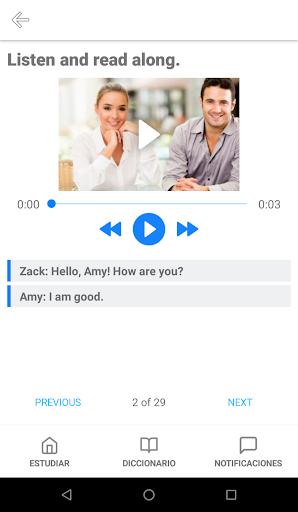 Open English (Only students) apktram screenshots 3
