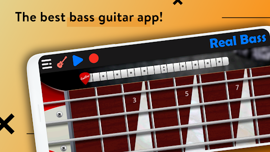 REAL BASS: Electric bass guitar 6.24.7 Mod APK Updated 1
